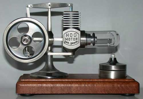 HOG Microstirling Engine